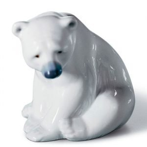 Lladro Seated Polar Bear