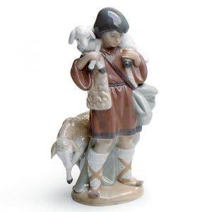 Lladro Shepherd Boy