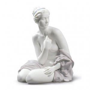 Lladro Sitting Bather