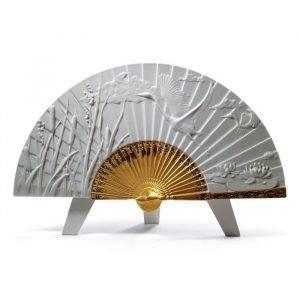 Lladro Summer Fan