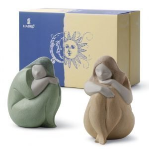 Lladro Sun And Moon Girls Gift Set