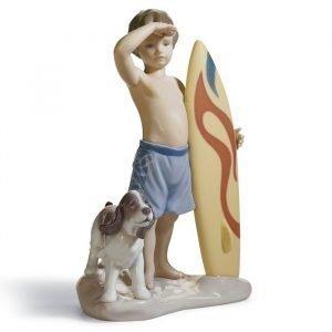 Lladro Surf's Up
