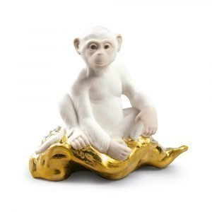 Lladro The Monkey Mini