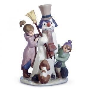 Lladro The Snowman