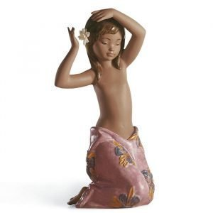 Lladro Tropical Flower Gres