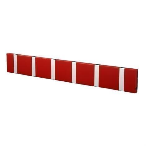 Loca Knax Vaatenaulakko 60 cm Punainen-Harmaa