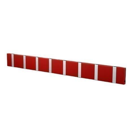 Loca Knax Vaatenaulakko 80 cm Punainen-Harmaa