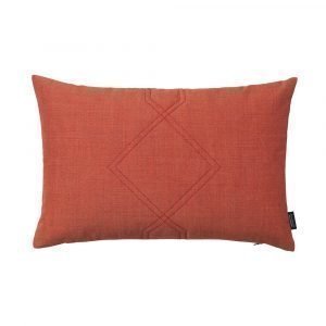 Louise Roe Diamond Tyyny Orange Red 40x60 Cm