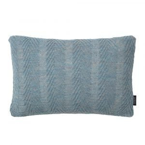 Louise Roe Herringbone Tyyny Antique Blue 30x50 Cm