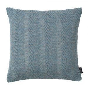 Louise Roe Herringbone Tyyny Antique Blue 50x50 Cm