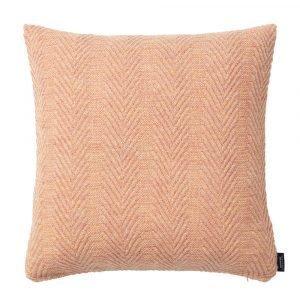 Louise Roe Herringbone Tyyny Pearl Peach 50x50 Cm