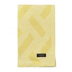 Louise Roe Pyyheliina Zigzag Gold 50x80 Cm