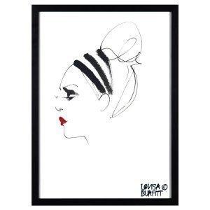 Lovisa Burfitt Lipstick Feu Rouge Juliste
