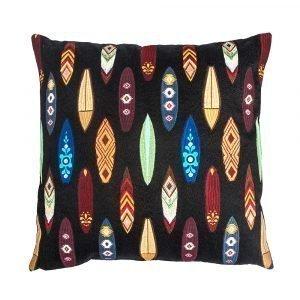 Lulu Carter Design Boarderline Tyynynpäällinen Pienet Laudat Musta