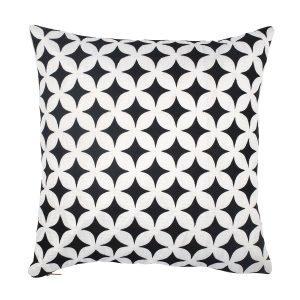 Lulu Carter Design Marrakech Manic Tyynynpäällinen Musta / Valkoinen
