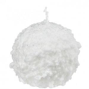Lumipallo Pöytäkynttilä 8cm