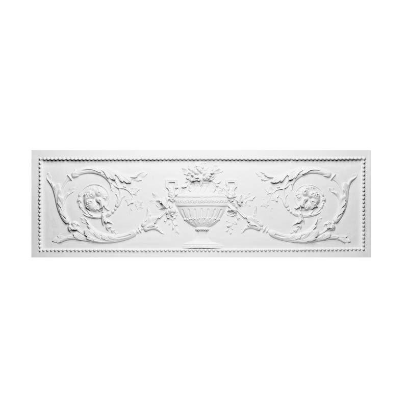 Luxxus Ovi- ja seinäkoriste D140 Valkoinen