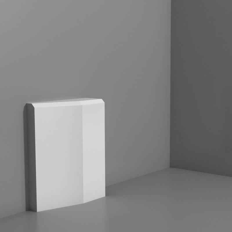 Luxxus Ovi- ja seinäkoriste D330LR Valkoinen
