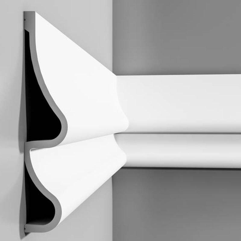 Luxxus Vuori- ja Puolipaneelilista G P3071 Valkoinen