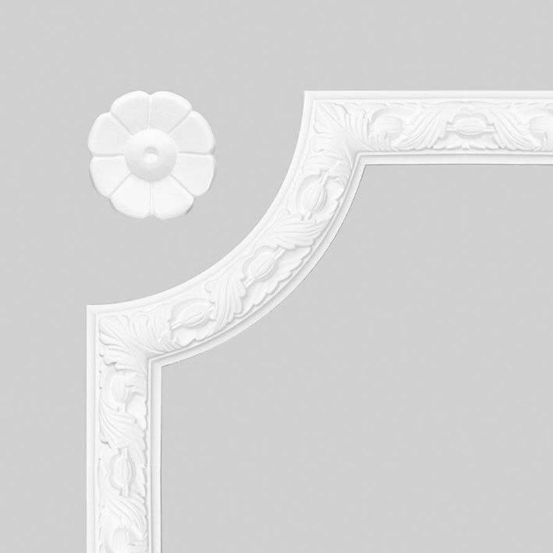 Luxxus Vuori- ja Puolipaneelilista K P20 Valkoinen