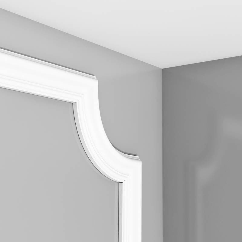 Luxxus Vuori- ja Puolipaneelilista K P801/C Valkoinen