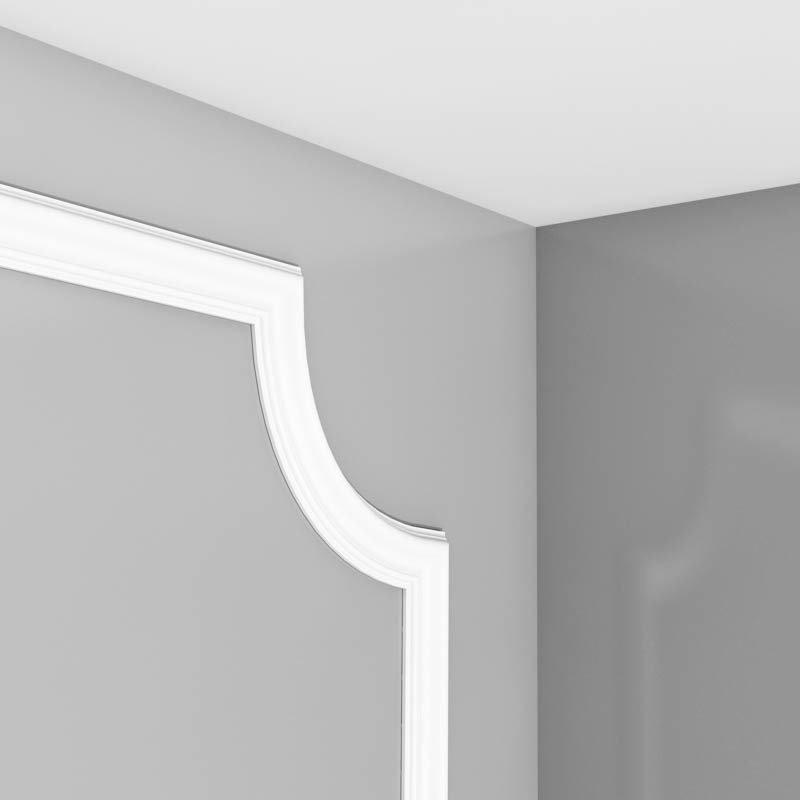 Luxxus Vuori- ja Puolipaneelilista K P8030/C Valkoinen