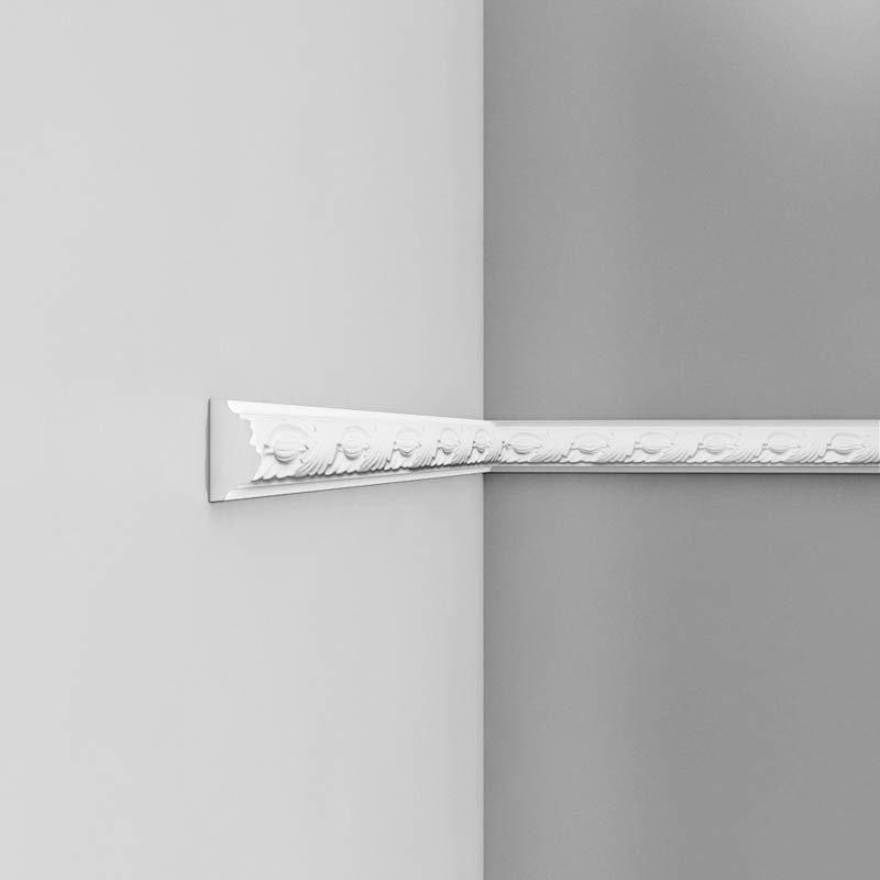 Luxxus Vuori- ja Puolipaneelilista P1020 Valkoinen