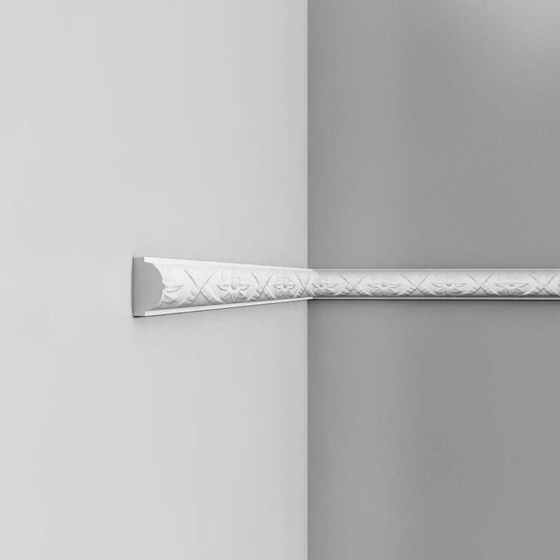 Luxxus Vuori- ja Puolipaneelilista P2020 Valkoinen