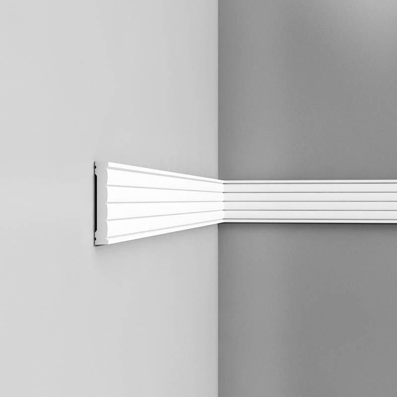 Luxxus Vuori- ja Puolipaneelilista P5020 Valkoinen