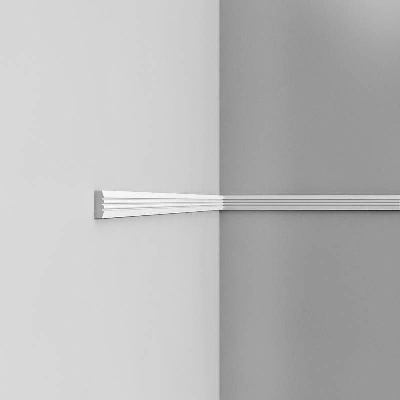 Luxxus Vuori- ja Puolipaneelilista P5021 Valkoinen