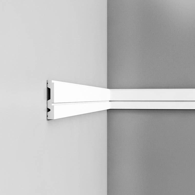Luxxus Vuori- ja Puolipaneelilista P5050/P5051 Valkoinen