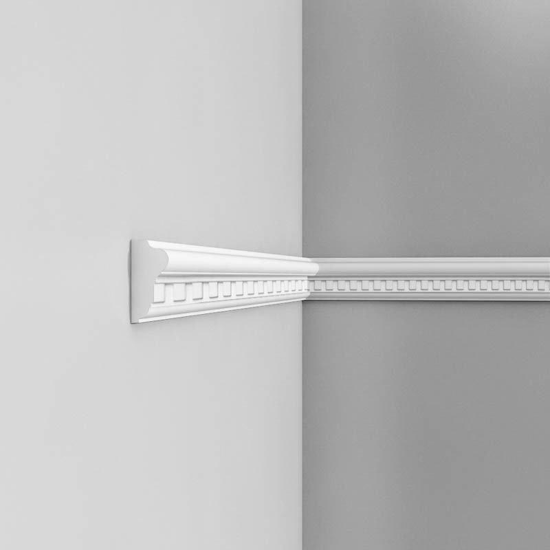 Luxxus Vuori- ja Puolipaneelilista P6020 Valkoinen