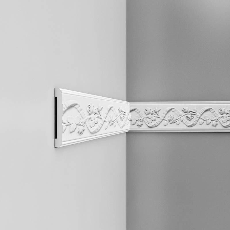 Luxxus Vuori- ja Puolipaneelilista P7010 Valkoinen