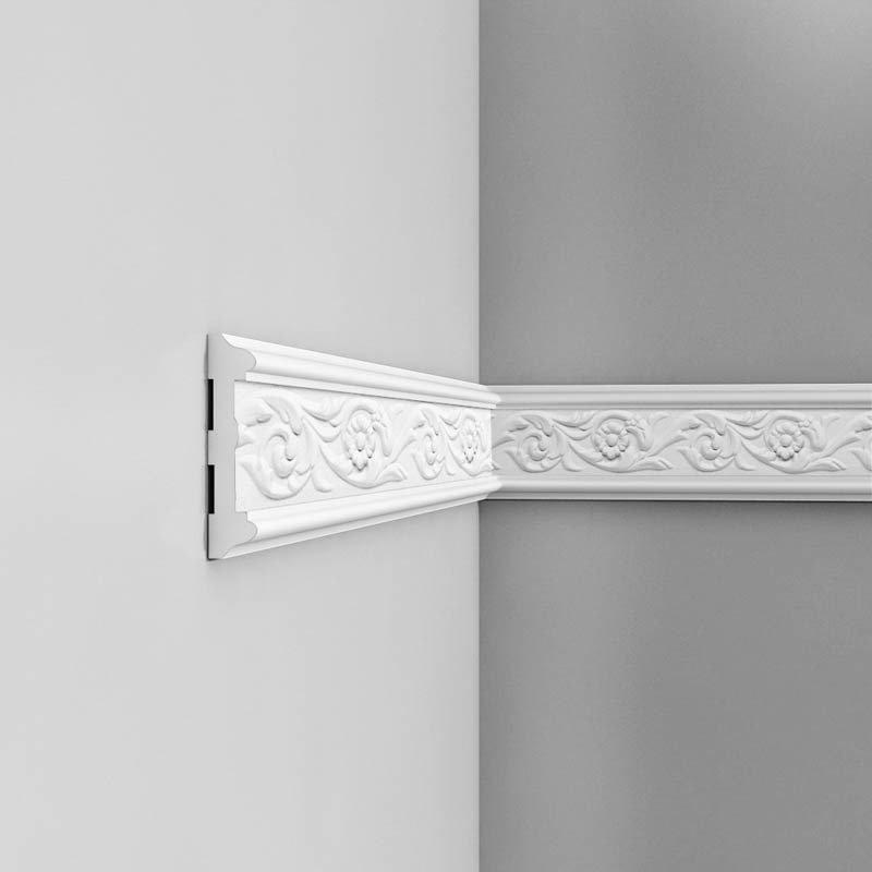 Luxxus Vuori- ja Puolipaneelilista P7020 Valkoinen