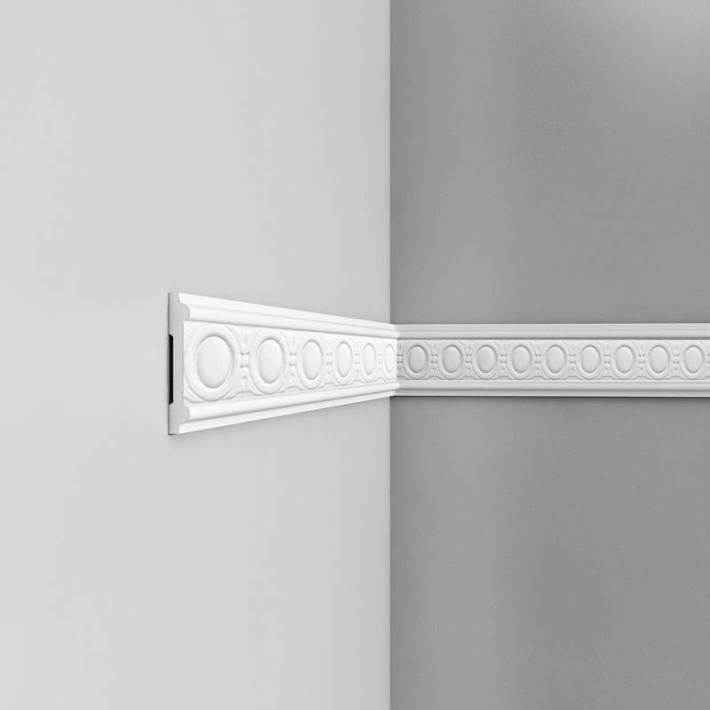 Luxxus Vuori- ja Puolipaneelilista P7030 Valkoinen