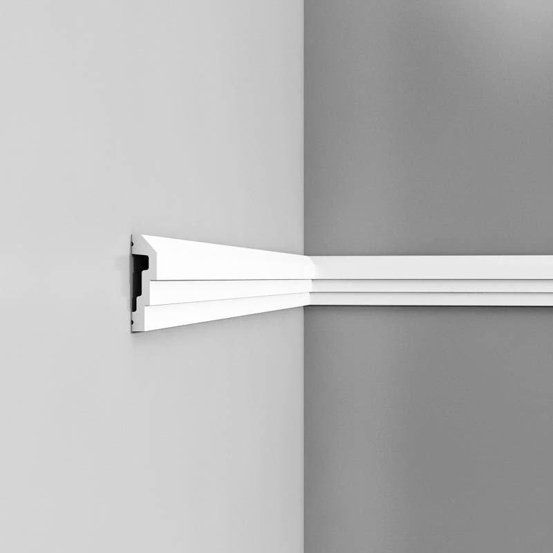 Luxxus Vuori- ja Puolipaneelilista P7070 Valkoinen