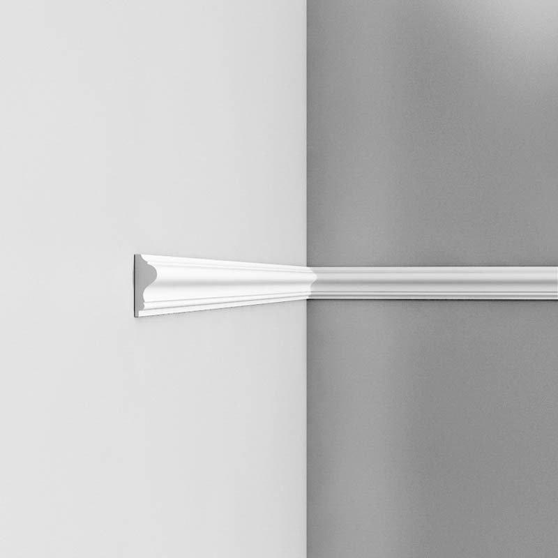 Luxxus Vuori- ja Puolipaneelilista P8030 Valkoinen