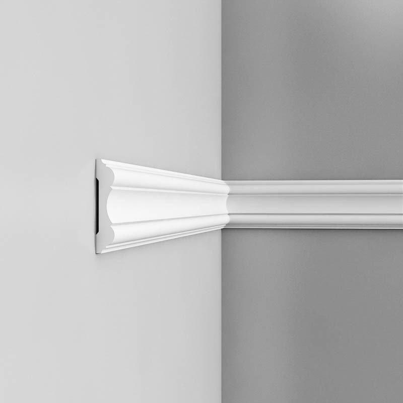 Luxxus Vuori- ja Puolipaneelilista P8040 Valkoinen