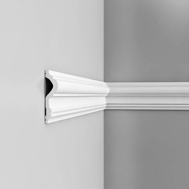 Luxxus Vuori- ja Puolipaneelilista P8050 Valkoinen