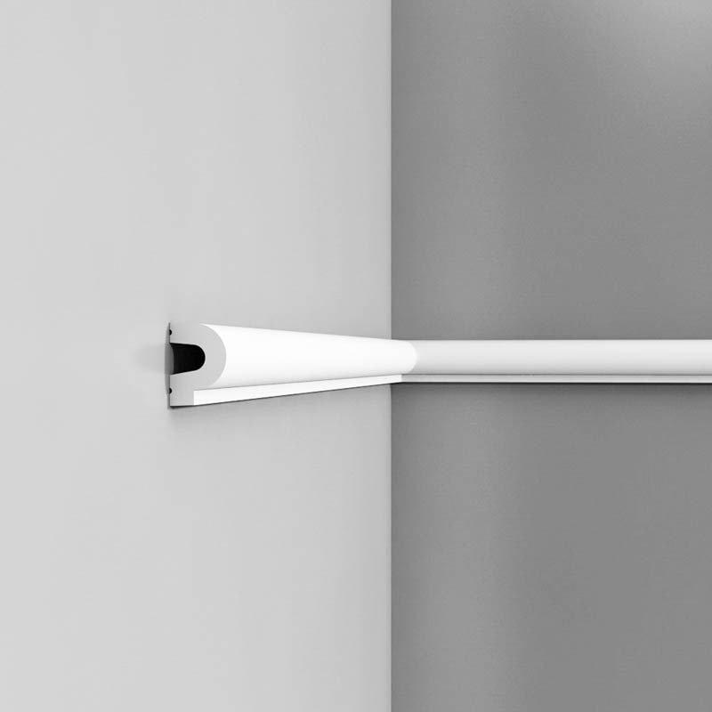 Luxxus Vuori- ja Puolipaneelilista P8060 Valkoinen