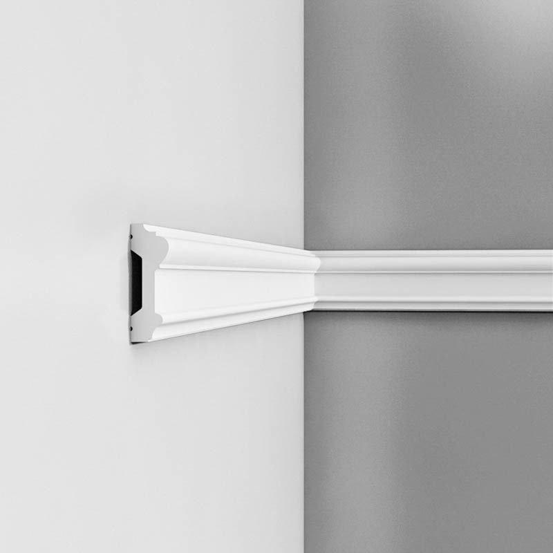Luxxus Vuori- ja Puolipaneelilista P9010 Valkoinen