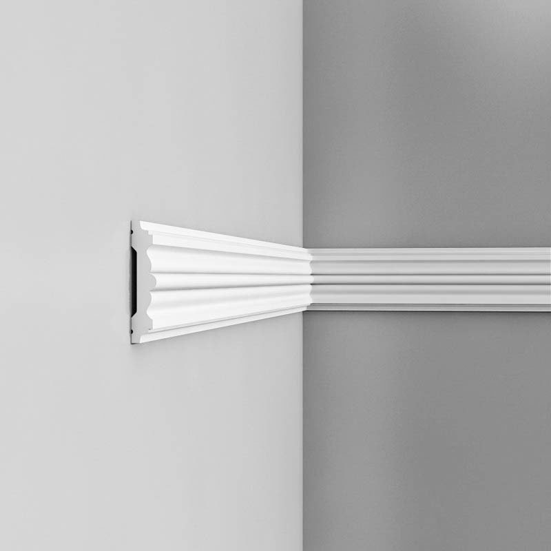 Luxxus Vuori- ja Puolipaneelilista P9020 Valkoinen