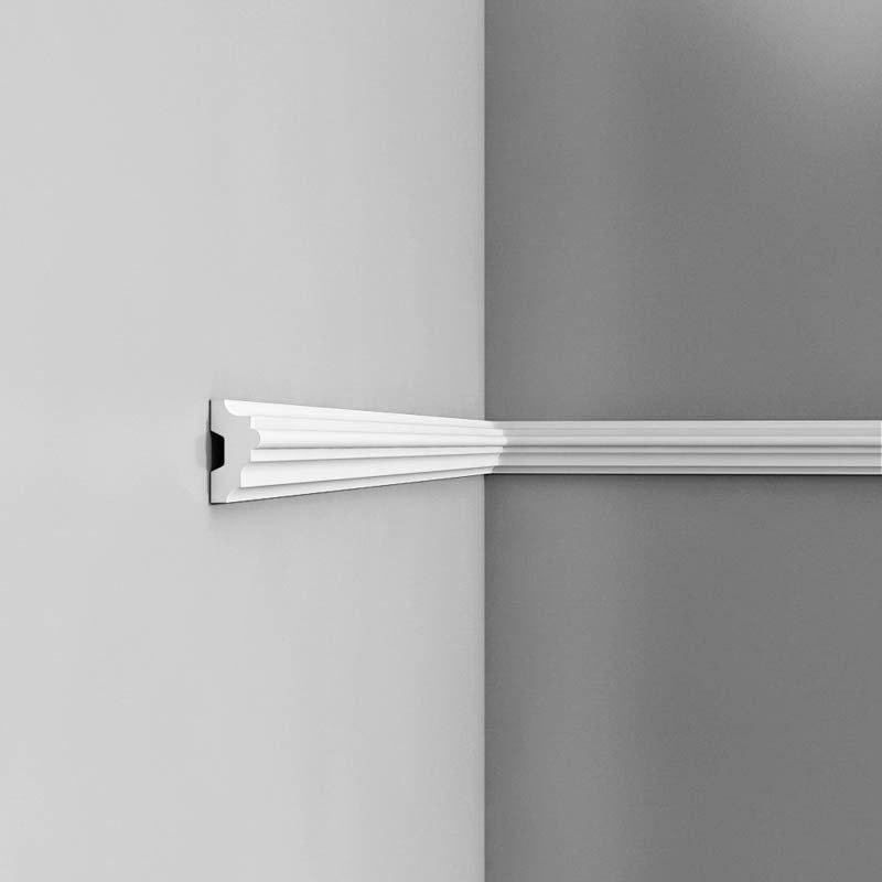 Luxxus Vuori- ja Puolipaneelilista P9040 Valkoinen