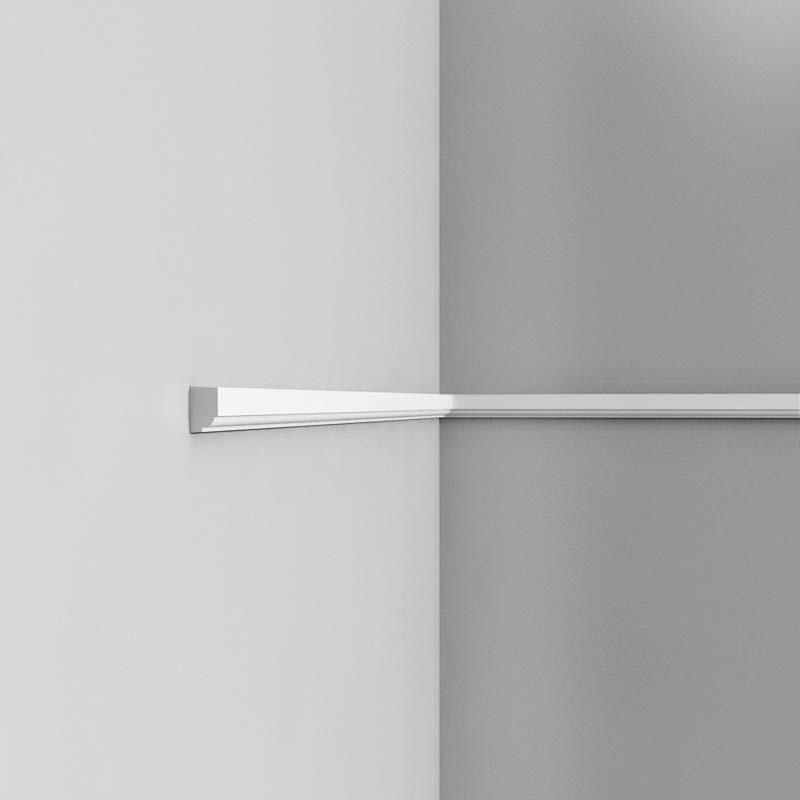 Luxxus Vuori- ja Puolipaneelilista P9050 Valkoinen
