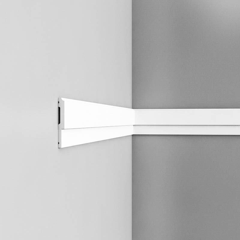 Luxxus Vuori- ja Puolipaneelilista P9900 Valkoinen