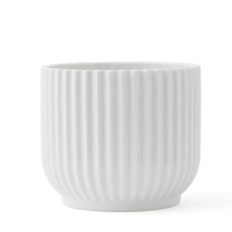 Lyngby Porcelæn Kukkaruukku Valkoinen 11 cm