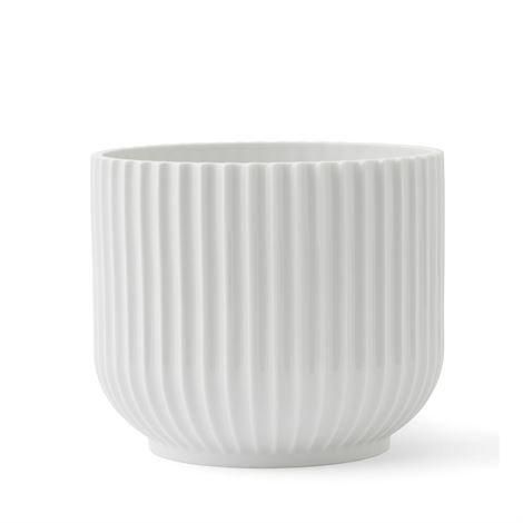Lyngby Porcelæn Kukkaruukku Valkoinen 14 cm