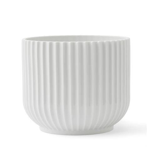 Lyngby Porcelæn Kukkaruukku Valkoinen 17 cm
