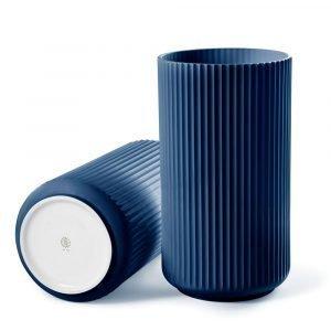 Lyngby Porcelæn Lyngby Maljakko Sininen 12 Cm