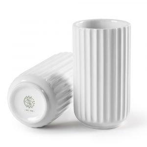 Lyngby Porcelæn Lyngby Maljakko Valkoinen 12 Cm